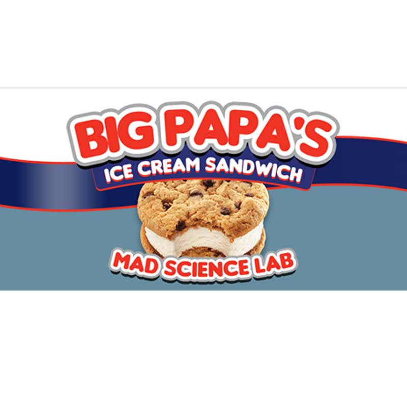 10ml Mad Science Lab Essence - Big Papa's Ice Cream Sandwich